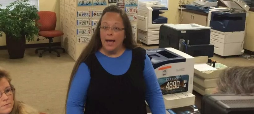 Rowan County, Kentucky Clerk Kim Davis