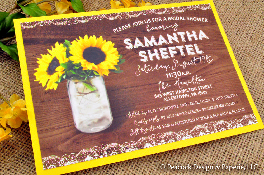 Wedding and Bridal Shower Invitations, Favors, Recipe Cards and more