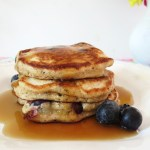 Spelt Blueberry Pancakes