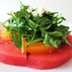 Watermelon Salad with Champagne Vinaigrette