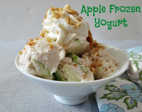 Apple Frozen Yogurt