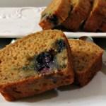 Lemon Blueberry Banana Bread / Weekly Recap / Giveaway
