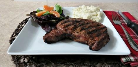 Orange, Soy and Red Wine Marinated Ribeye Steak