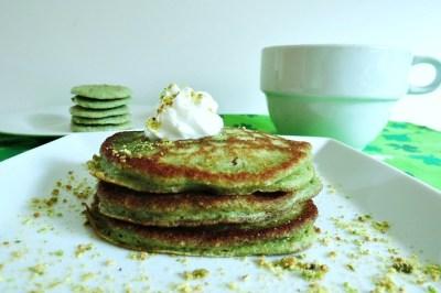 Pistachio Pancakes