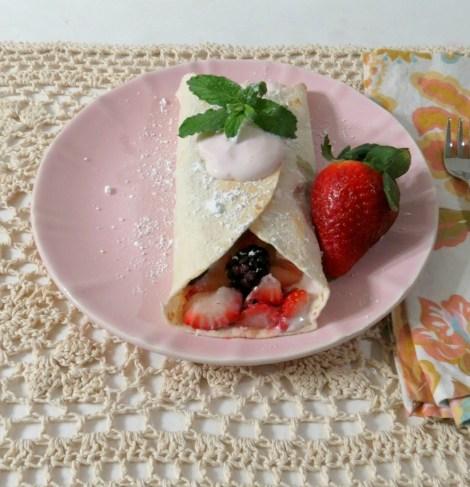 Berry Breakfast Tacos