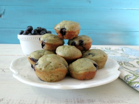 Mini Blueberry Orange Muffin