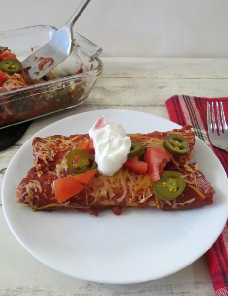 Lentil Enchiladas