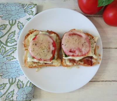 Open Face BTC Sandwich