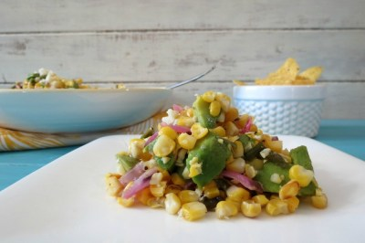 Grilled Mexican Corn and Avocado Salad