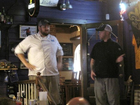 Chef Jay Ducot and Chef Chris Wadsworth