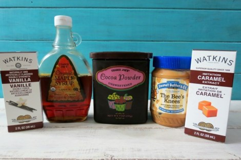 Snickerway Truffle Ingredients