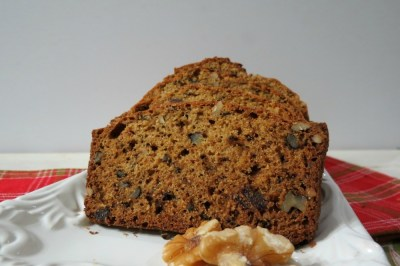Date and Walnut Bread  #DiamondFantasies
