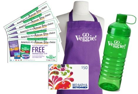 GO Veggie! Giveaway  #SpreadCheer