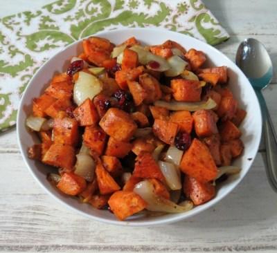 Honey and Cinnamon Glazed Sweet Potatoes