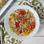 Chicken and Wild Rice Soup in Crockpot – #SundaySupper