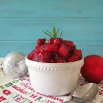 Cranberry, Pear & Rosemary Chutney