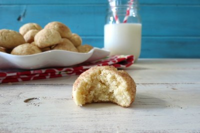 Puffy Snickerdoodle Cookies