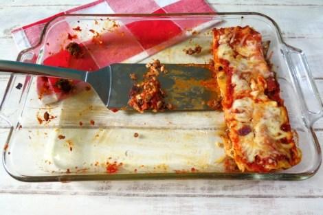 Three Cheese Meat Lasagna