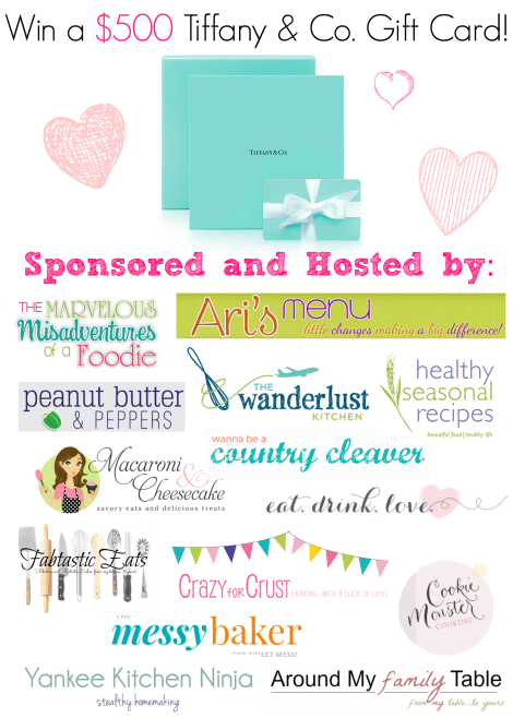 Tiffanys Giveaway  Bloggers