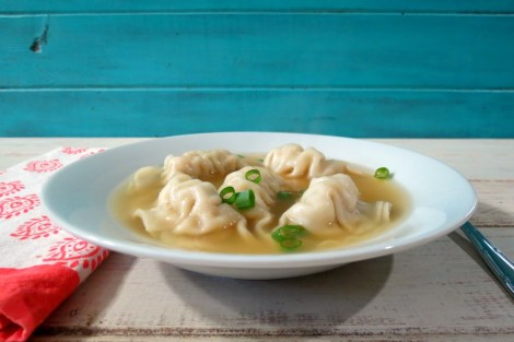 Chicken Potsticker Soup