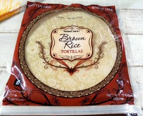 Trader Joes Brown Rice Tortilla Shells