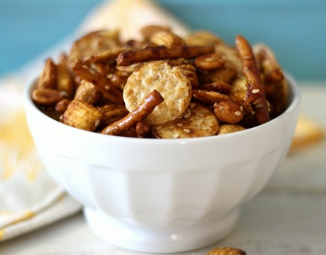 Honey Sesame Snack Mix (GF)