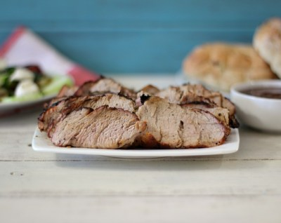 Memphis Rubbed Pork Tenderloin