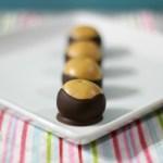 Peanut Butter Buckeyes #SundaySupper