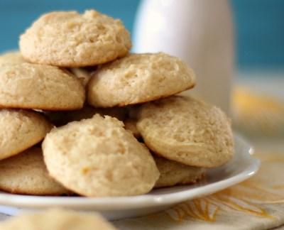 Lemon Cookies #SundaySupper