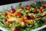 salad close-up post dressing