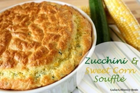 zucchini and sweet corn souffle