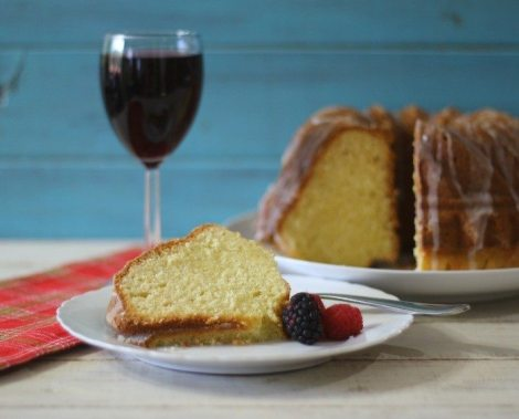 Lemon Pound Cake #SundaySupper