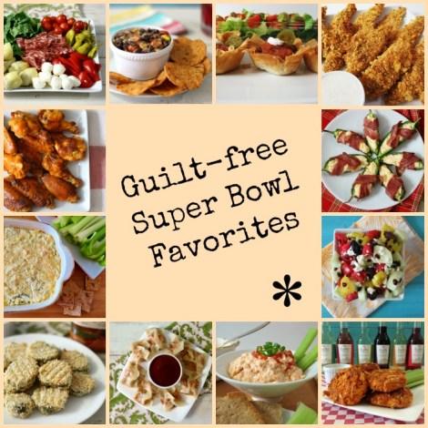 Guilt-Free Super Bowl Favorites