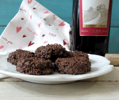 Chocolate Coconut Haystacks #SundaySupper