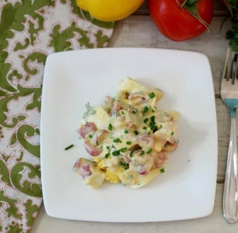 Chunky Healthy Egg Salad #SundaySupper