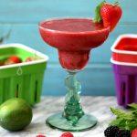 Skinny Berry Margarita #createwithcrisp