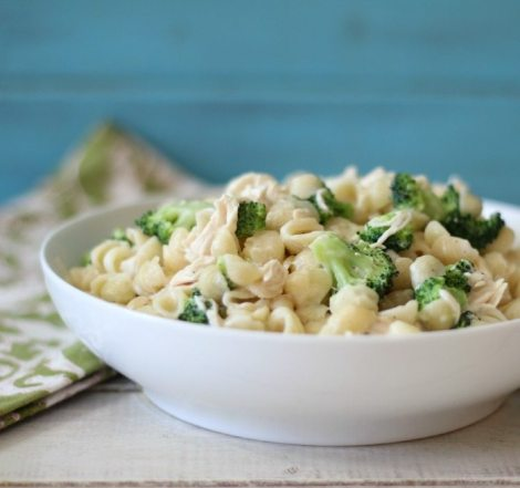 Brocoli & Chicken Mac and Cheese
