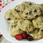 Cranberry Macadamia Nut Cookies