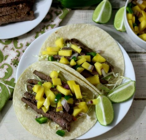 Sweet and Spicy Asian Beef Tacos #Sunday Supper