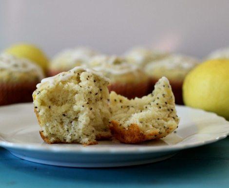 Meyer Lemon Chia Muffins