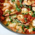 Shrimp with Garlic and Tomatoes