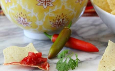 Serrano Pepper Salsa