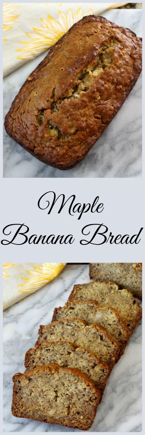 Maple Banana Bread