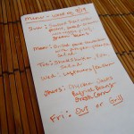 Weekly Menu Plan, Engagement Party and WAFFLES