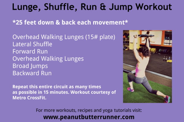 Lunge Burn Workout