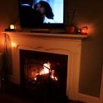 Fireplace Coziness, Scandal & Recent Eats