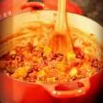 Butternut and Bean Chili {Recipe}