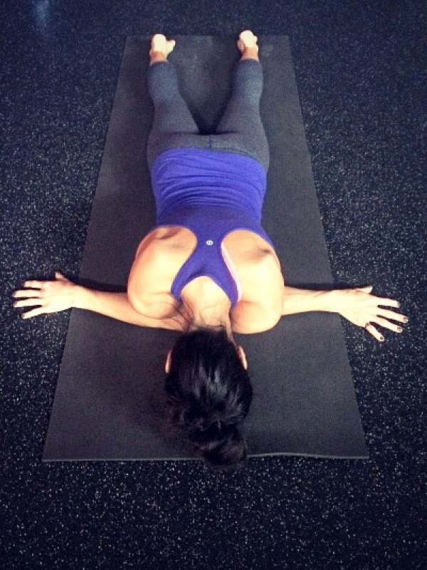 A how-to guide for 3 of the best yoga poses to unlock tight shoulders and chests.
