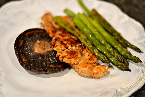 Honey Balsamic Glazed Chicken Breasts from the Canyon Ranch Cookbook