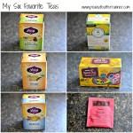 My Six Favorite Hot Teas
